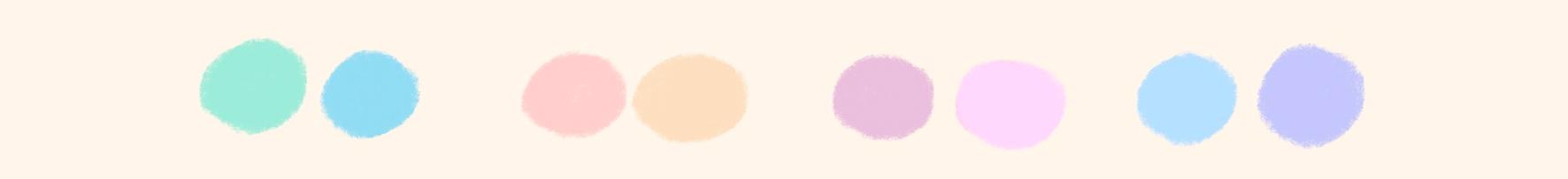 Combinación de tonos claros